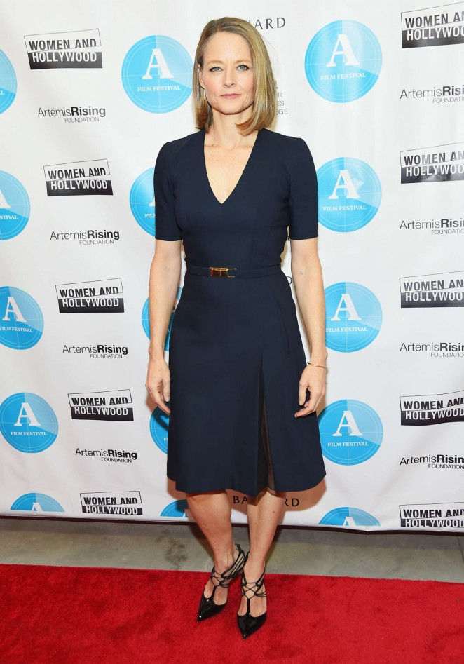 Jodie Foster – 2015 Athena Film Festival Opening Night in NYC