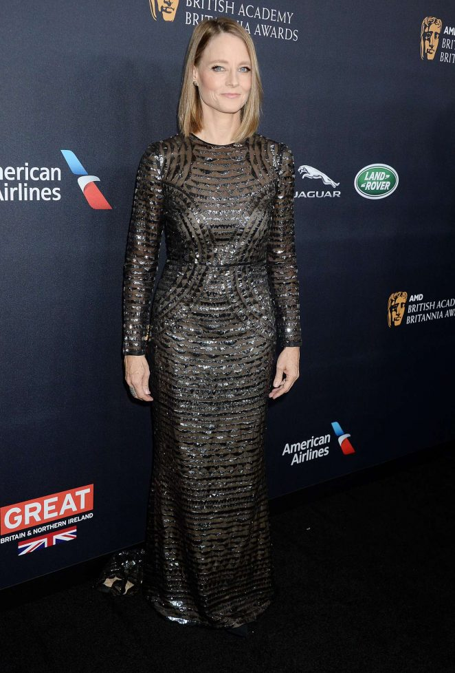 Jodie Foster – 2016 AMD British Academy Britannia Awards in Beverly Hills