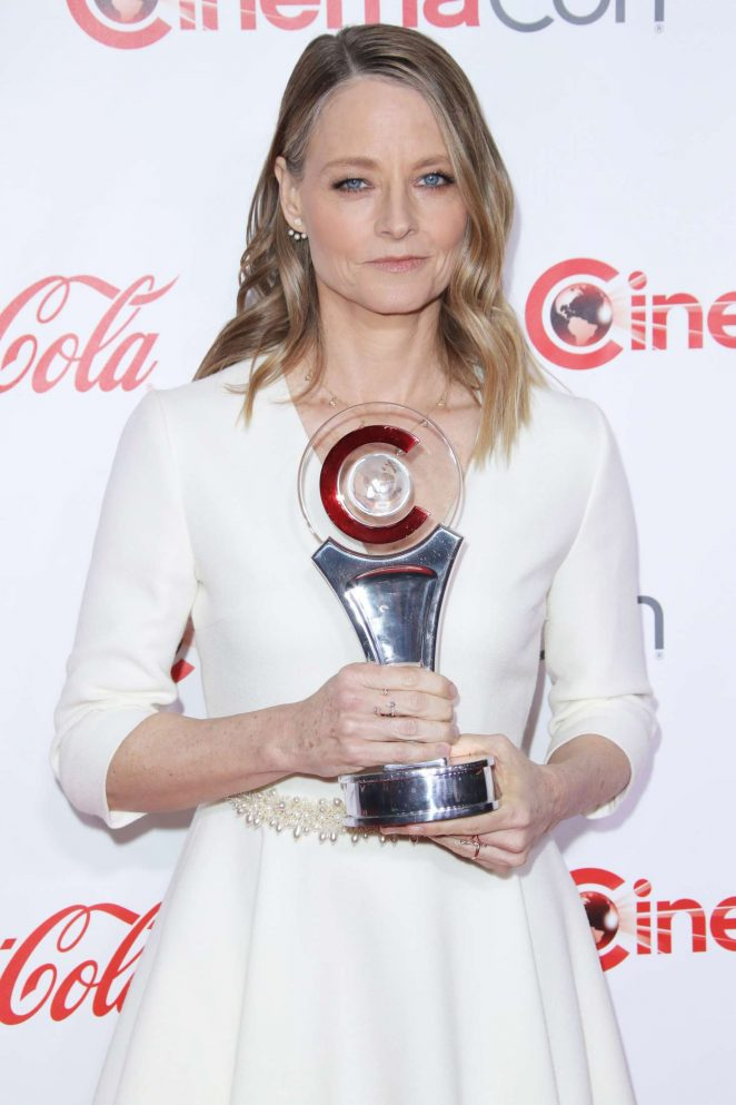 Jodie Foster - 2018 Big Screen Achievement Awards at CinemaCon in Las Vegas