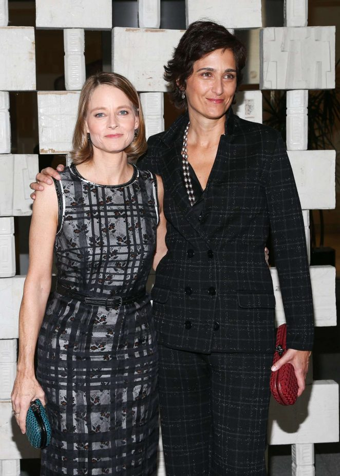 Jodie Foster and Alexandra Hedison – Hammer Museum's 14th annual Gala In The Garden in Westwood