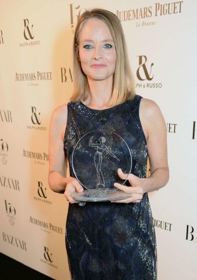 Jodie Foster – Harper's Bazaar Women of the Year Awards 2017 in London