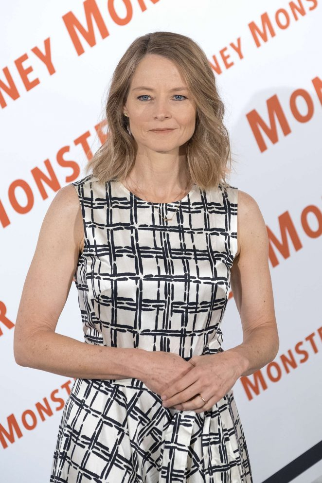 Jodie Foster – 'Money Monster' Photocall in Madrid