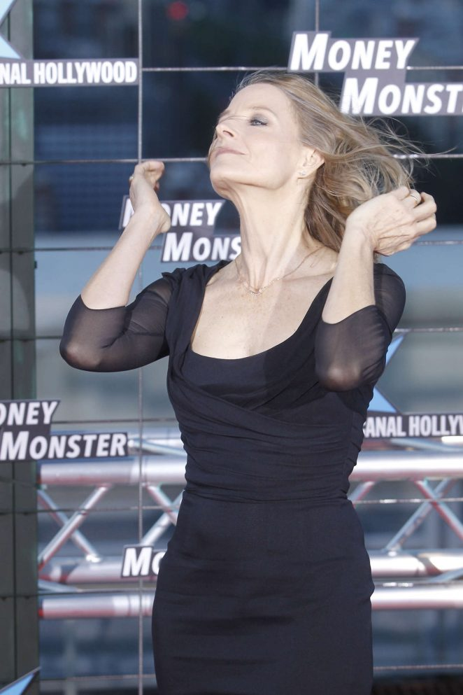 Jodie Foster - 'Money Monster' Premiere in Madrid