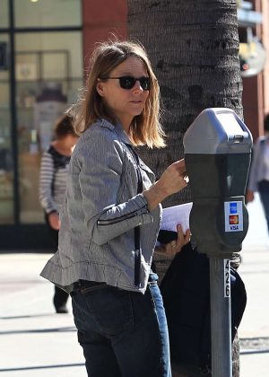 Jodie Foster out and about in Beverly Hills