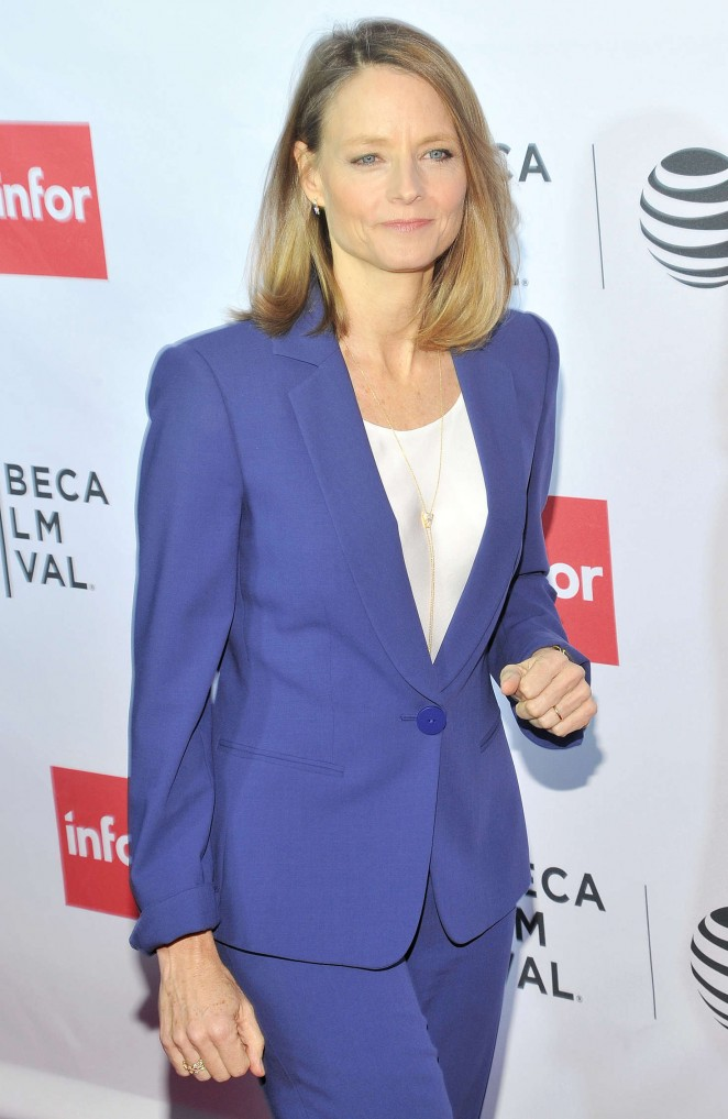 Jodie Foster – 'Taxi Driver' 40th Anniversary Screening 2016 Tribeca Film Festival in NYC
