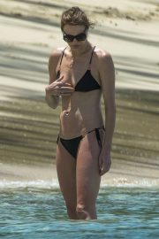 Jodie Kidd in Bikini on holiday in Barbados