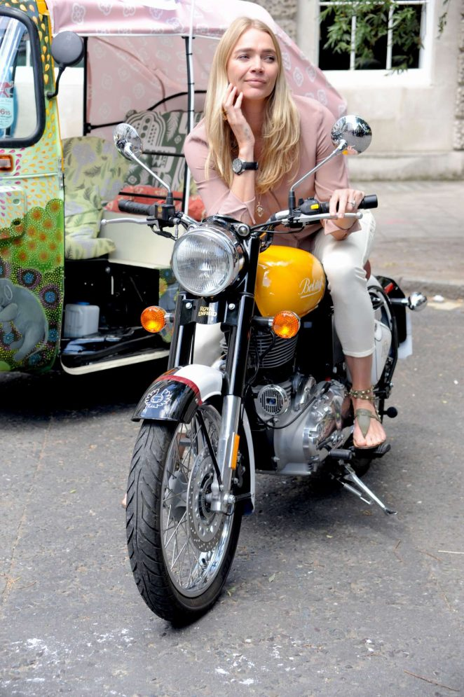 Jodie Kidd - Launch of Elephant Family Charity's 'Concours d'elephant' in London