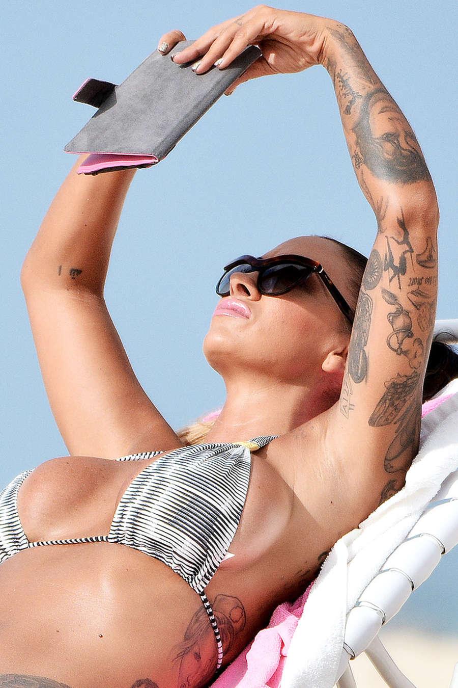 Jodie Marsh 2015 : Jodie Marsh Hot in Bikini -01