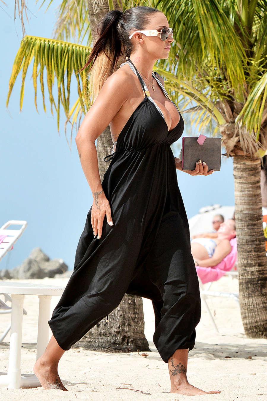Jodie Marsh 2015 : Jodie Marsh Hot in Bikini -03