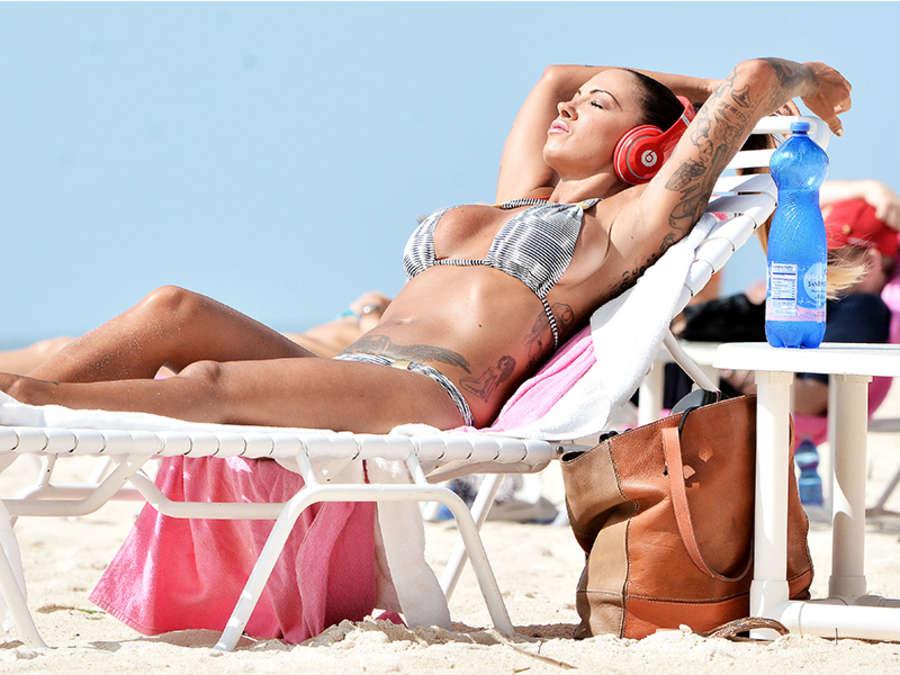 Jodie Marsh 2015 : Jodie Marsh Hot in Bikini -06