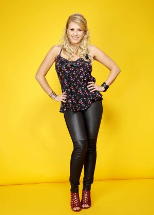Jodie Sweetin: Backstage Portrait Studio at 102 7 KIIS FMs 2016 -02