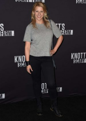 Jodie Sweetin - Knott's Scary Farm Opening Night in Los Angeles