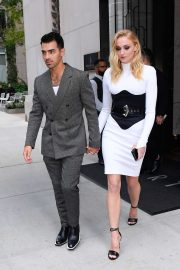 Joe Jonas and Sophie Turner - Out in SoHo on their way to the VMAs 2019