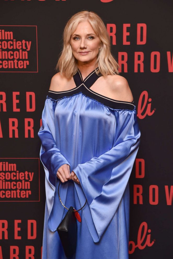 Joely Richardson - 'Red Sparrow' Premiere in New York