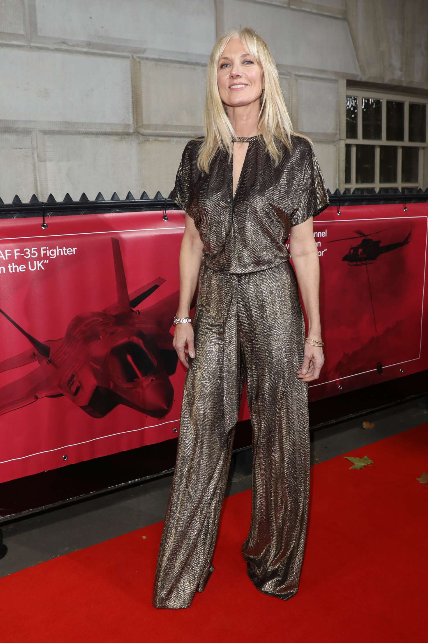 Joely Richardson 2018 : Joely Richardson: Sun Military Awards 2018 -02