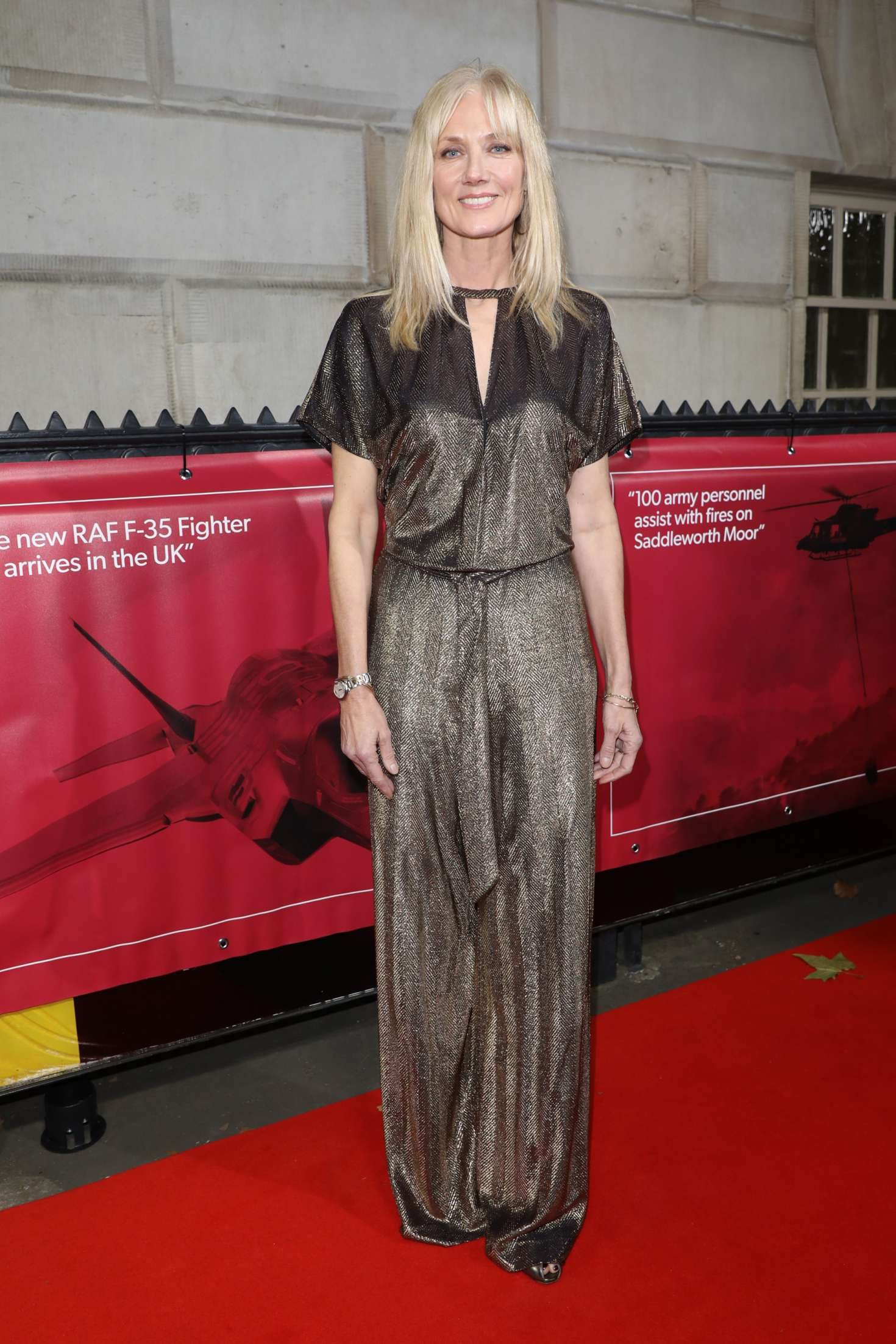 Joely Richardson 2018 : Joely Richardson: Sun Military Awards 2018 -07