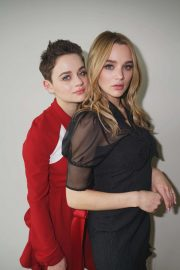 Joey and Hunter King - Entertainment Tonight Photoshoot for the CBS series 'Life in Pieces'