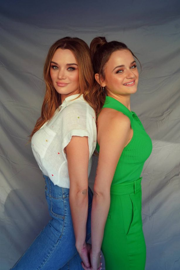 Joey and Hunter King - Possing for photoshoot for a secret project in Los Angeles
