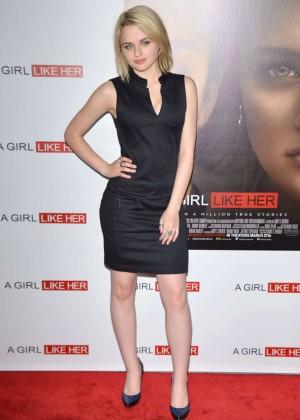 Joey King: A Girl Like Her Premiere -12