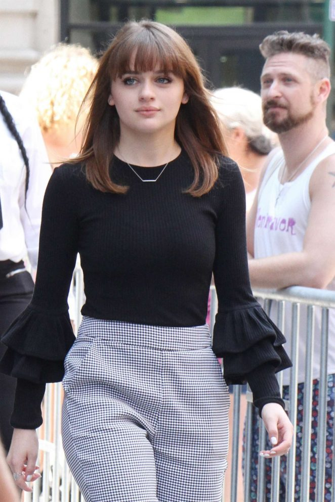 Joey King at AOL Build Speaker Series in New York