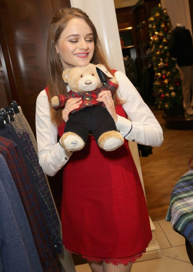 Joey King - Brooks Brothers Holiday Celebration in Beverly Hills