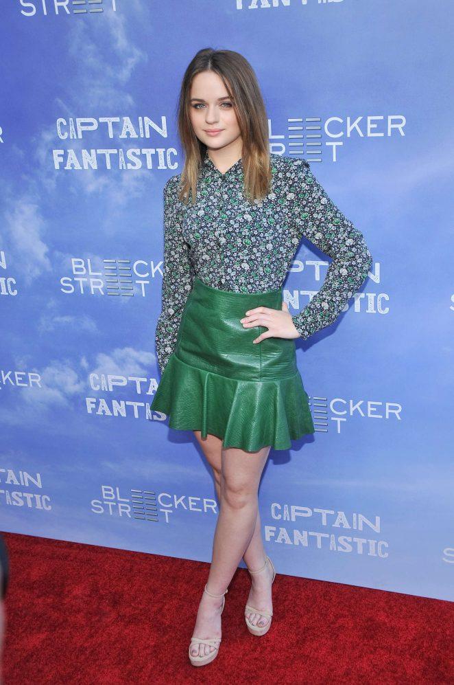 Joey King - 'Captain Fantastic' Premiere in Los Angeles