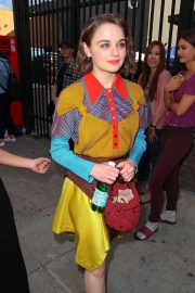 Joey King - Leaving Goya Studios in Hollywood