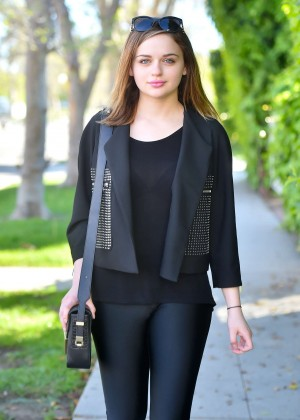 Joey King - Out and about in Santa Monica