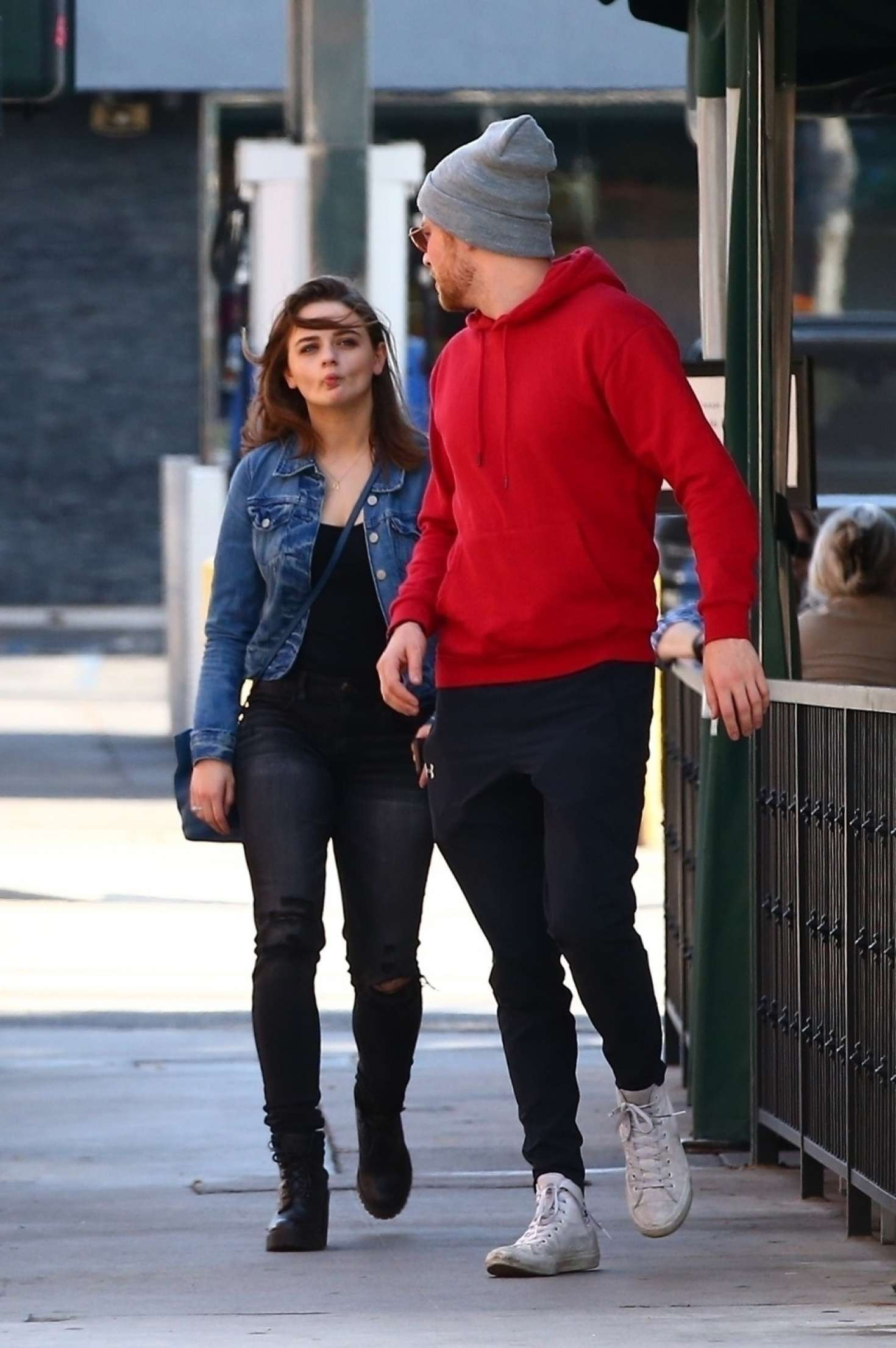 New Sienna 2019 >> Joey King with her boyfriend at Hugo's in West Hollywood – GotCeleb