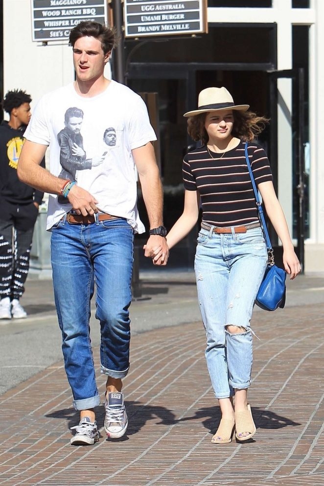 Joey King with Jacob Elordi: Shopping at The Grove -07