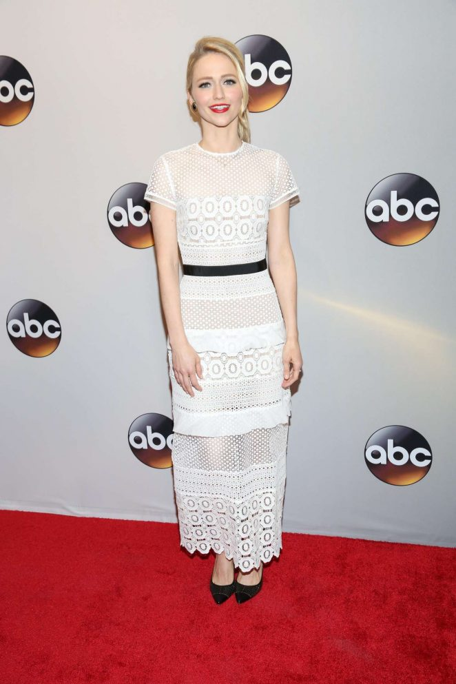 Johanna Braddy - 2016 ABC Upfront in New York