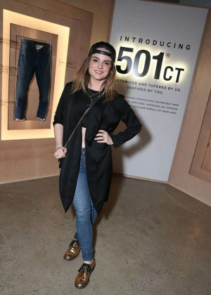 JoJo Levesque - Launch of the Levi's x Vogue Limited Edition 501CT in Hollywood
