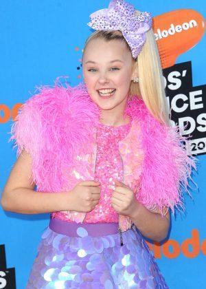 JoJo Siwa - 2018 Nickelodeon Kids' Choice Awards in Los Angeles