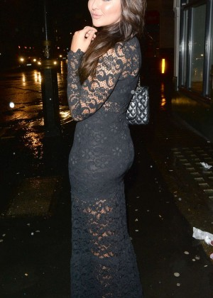 Jordan Sargeant at Billie Faiers' in The Style Launch Party in London