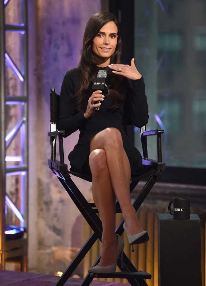 Jordana Brewster - AOL's BUILD Speaker Series in NYC