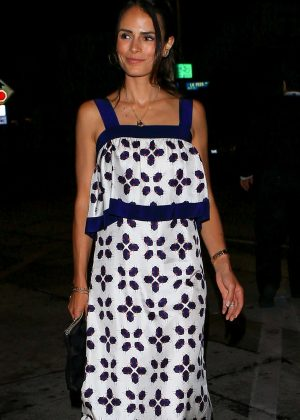 Jordana Brewster - Arrives for a dinner at Craig's in West Hollywood