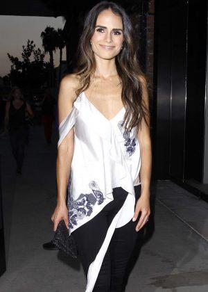 Jordana Brewster Arriving at Dream Hotel in Los Angeles