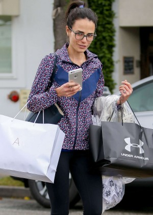 Jordana Brewster at Express in Beverly Hills