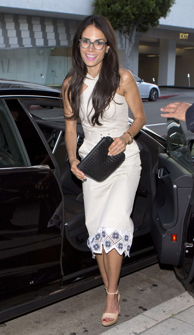 Jordana Brewster at Mr Chow Restaurant -07