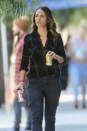 Jordana Brewster - Filming 'Fast & Furious 9' Reshoots in Hollywood