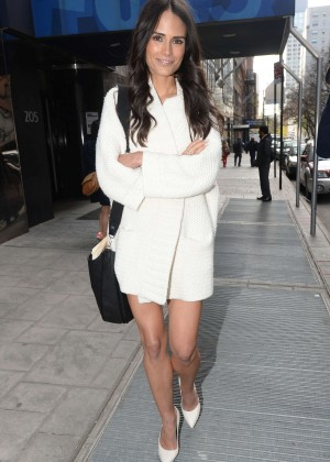 Jordana Brewster: Good Day New York -02