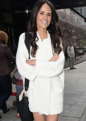 Jordana Brewster - 'Good Day New York' in Manhattan