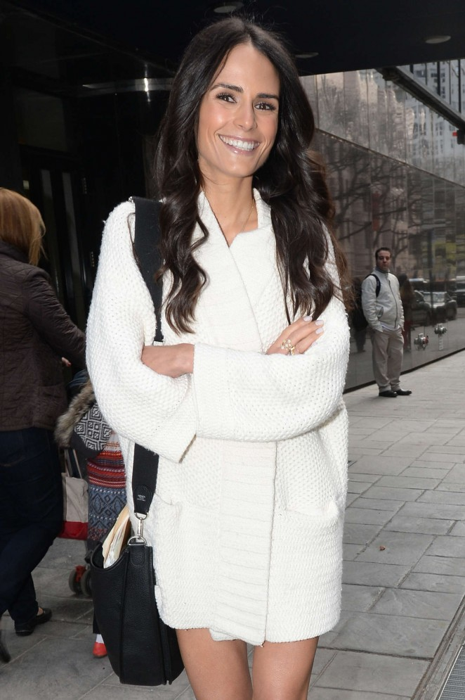 Jordana Brewster - 'Good Day New York' in Manhattan