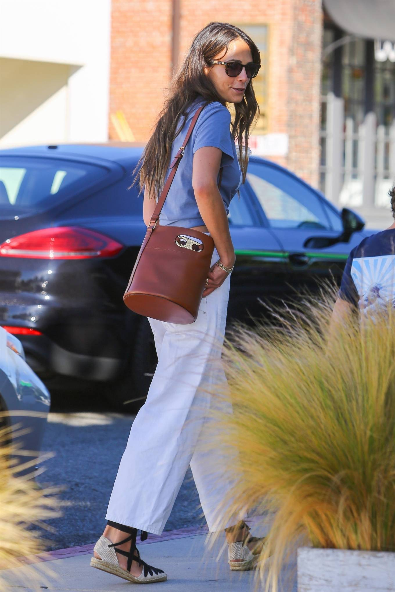 Jordana Brewster 2021 : Jordana Brewster – In a midriff-baring top out in Brentwood-05