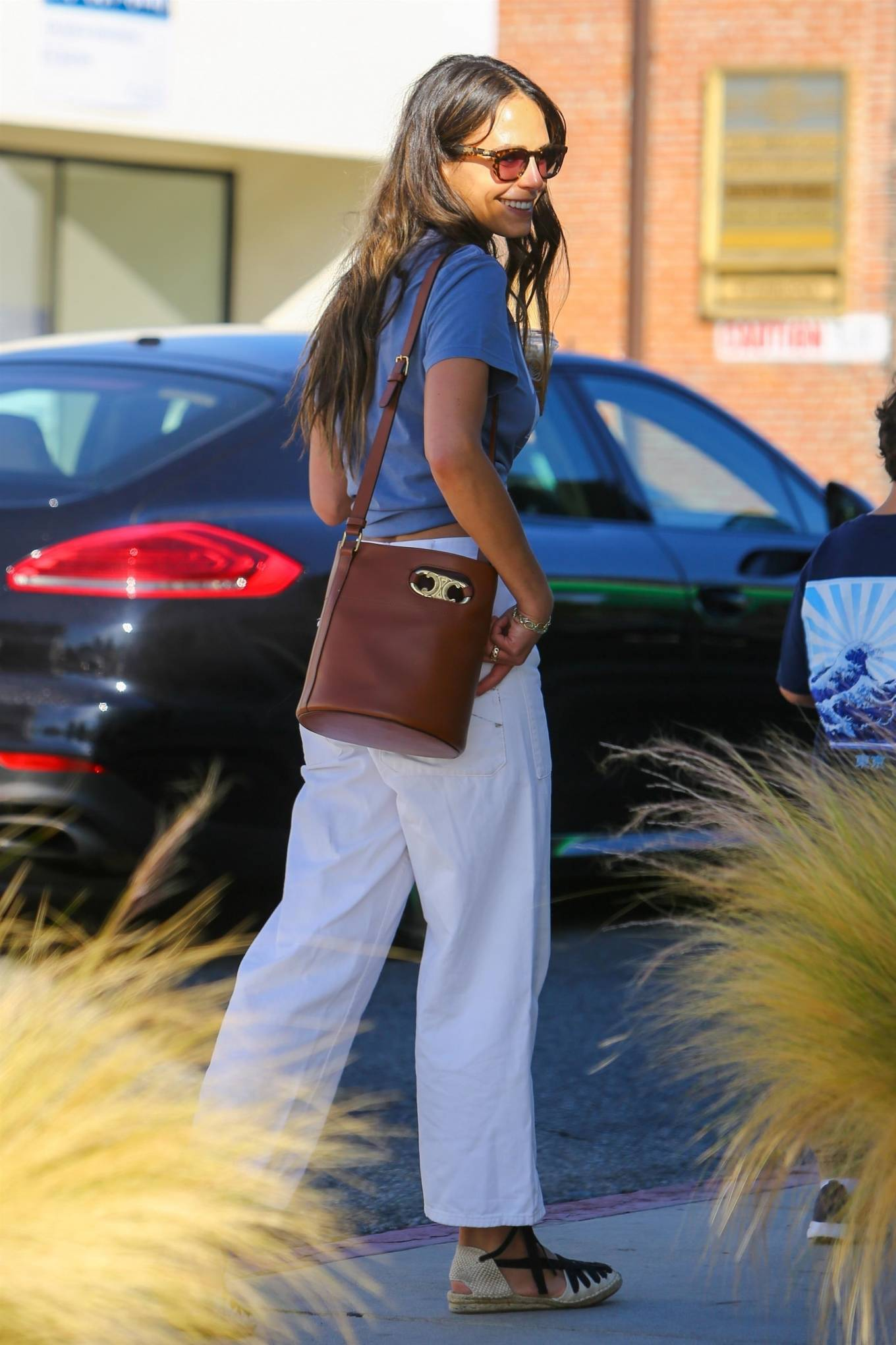 Jordana Brewster 2021 : Jordana Brewster – In a midriff-baring top out in Brentwood-08