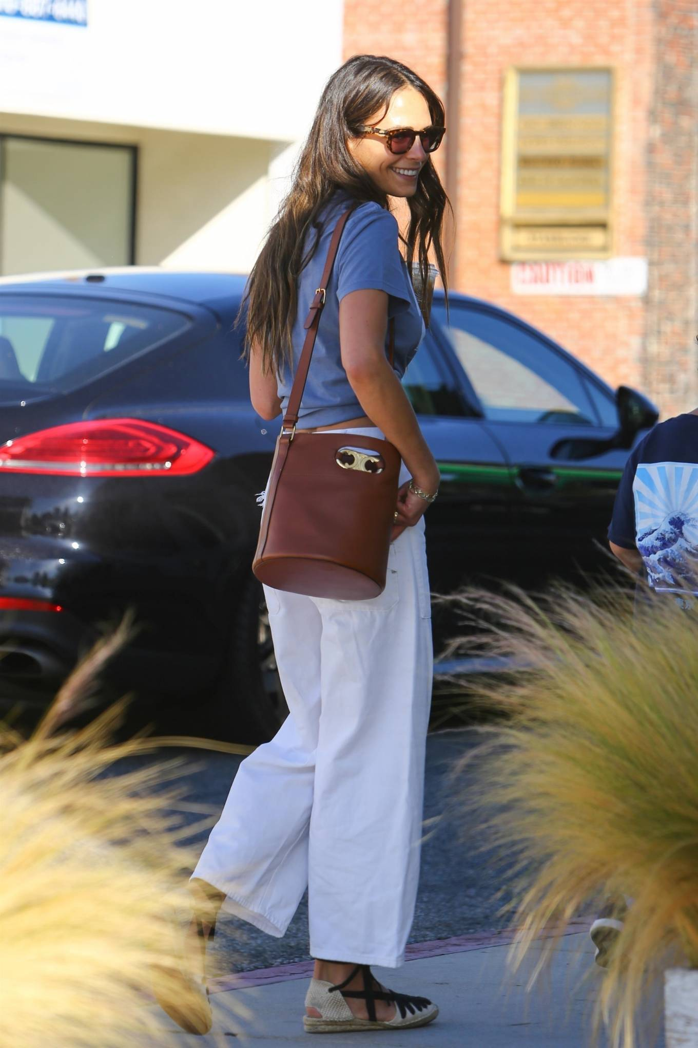 Jordana Brewster 2021 : Jordana Brewster – In a midriff-baring top out in Brentwood-09