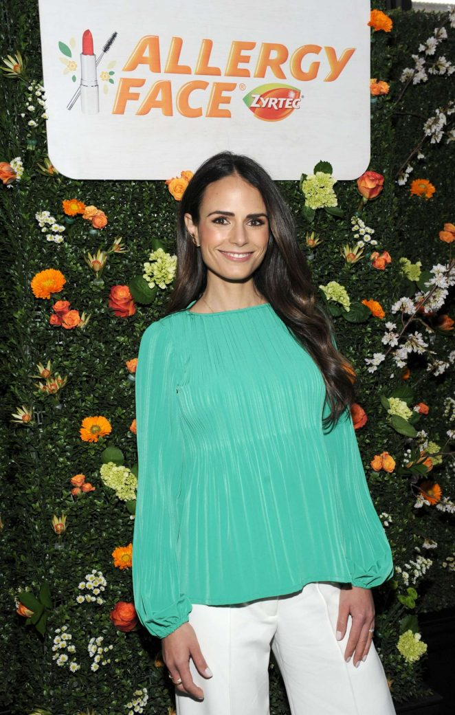 Jordana Brewster - Joins Zyrtec In Helping Women Take on Allergy Face in NY