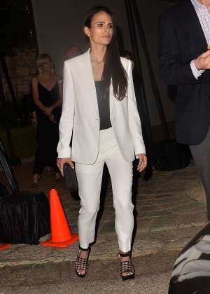 Jordana Brewster - Leaves a Pre Oscar Talent Agency Party in Los Angeles