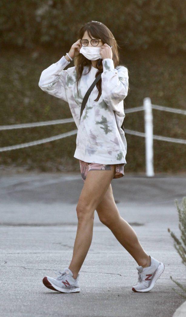 Jordana Brewster - Leggy out in Brentwood