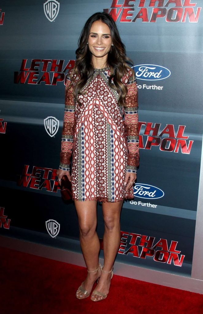 Jordana Brewster - 'Lethal Weapon' Premiere in Los Angeles
